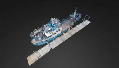 R/V Woldstad – Support Vessels of Alaska 3D Model