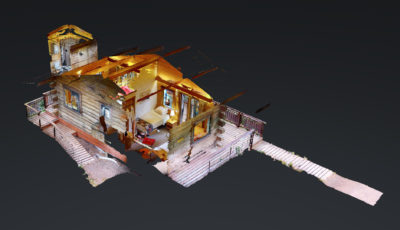 Tideview Cabin at Stillpoint Lodge 3D Model