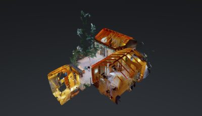 Massage Buildings at Stillpoint Lodge 3D Model