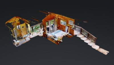 The Perch Cabin at Stillpoint Lodge 3D Model