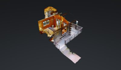Point of View Cabin at Stillpoint Lodge 3D Model