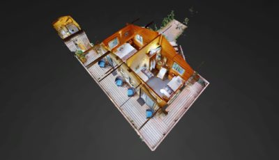 Overview Cabin at Stillpoint Lodge 3D Model