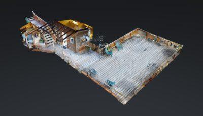 Pier 2 Cabin at Stillpoint Lodge 3D Model