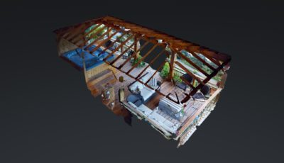 Gazebo at Stillpoint Lodge 3D Model