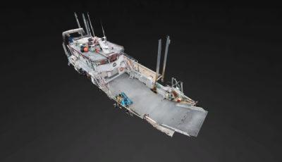 M/V Peregrine 3D Model