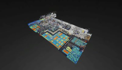 Fly Trampoline Park Wasilla 3D Model